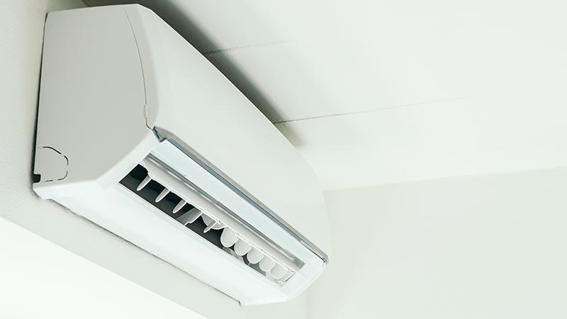 Klimaanlagen und Augen